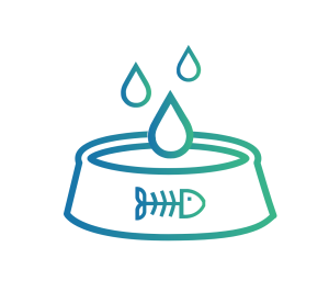 Caninsulin.com cat water bowl icon