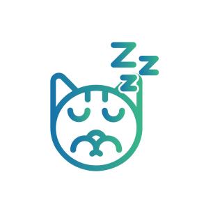 Caninsulin.com cat sleeping icon