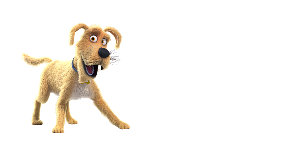 Caninsulin.com animated dog named Spike quote about going to the veterinarian
