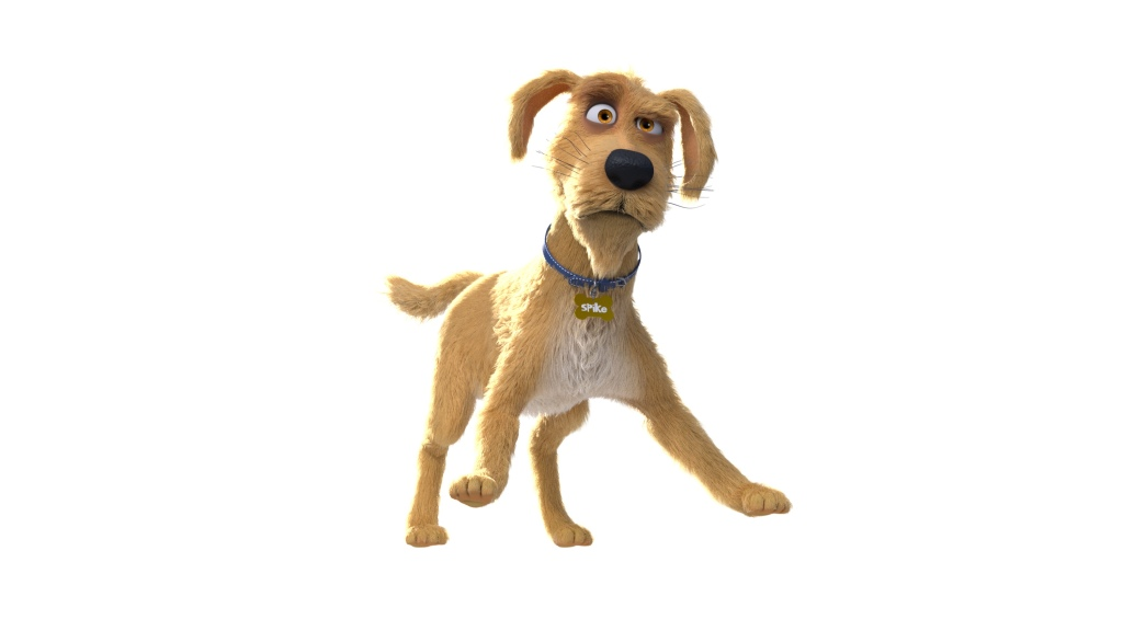 Caninsulin.com animated dog named Spike with quote about signs of diabetes