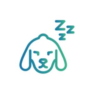 Caninsulin.com dog sleeping icon